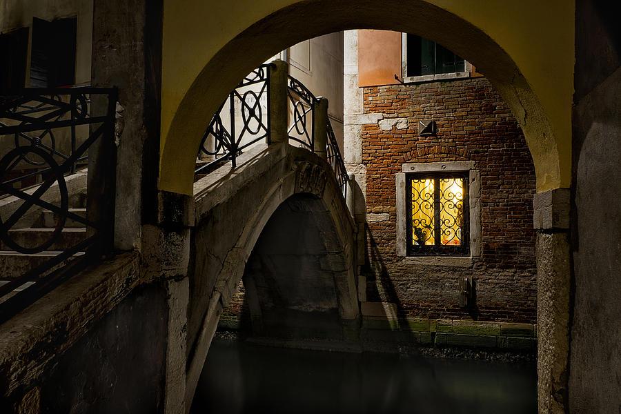 Venice At Night1 Photograph