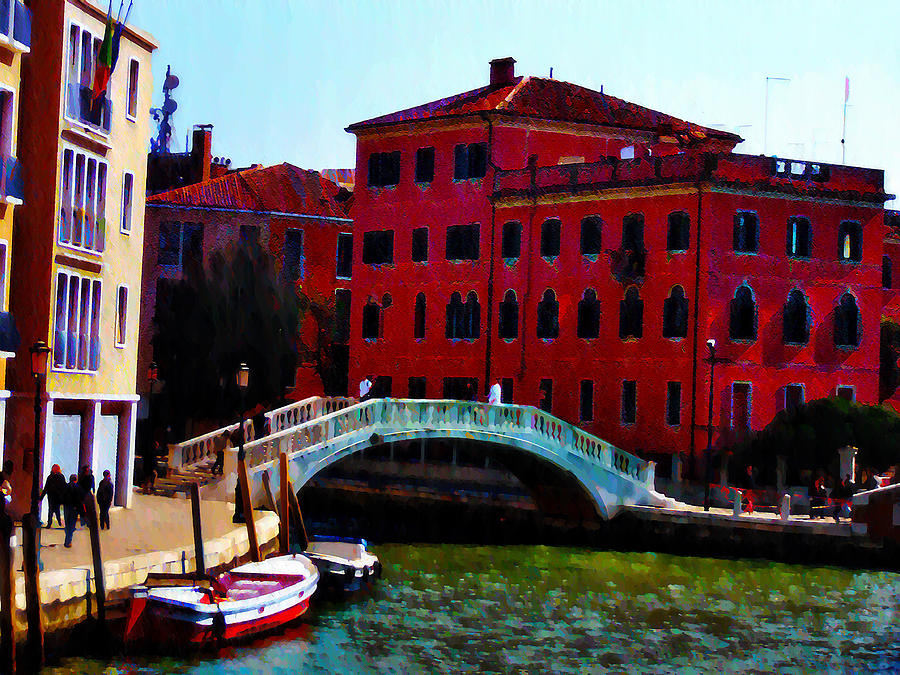 Venice Bow Bridge Photograph  - Venice Bow Bridge Fine Art Print