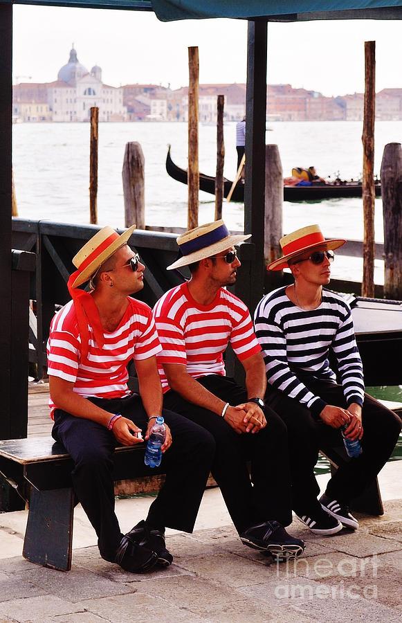 Venice Boys Photograph
