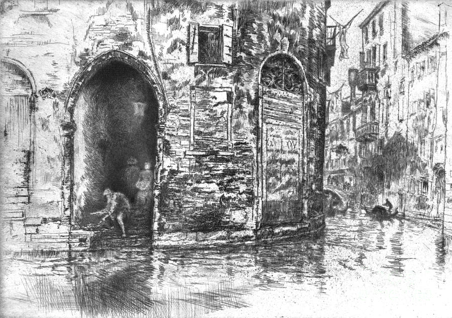 Venice Doorways 1880 Photograph