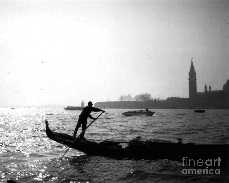 Venice Gondola Photograph