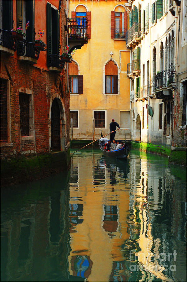 Venice Reflections Photograph  - Venice Reflections Fine Art Print