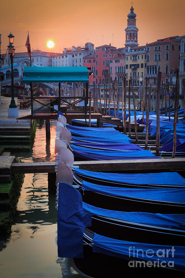 Venice Sunrise Photograph