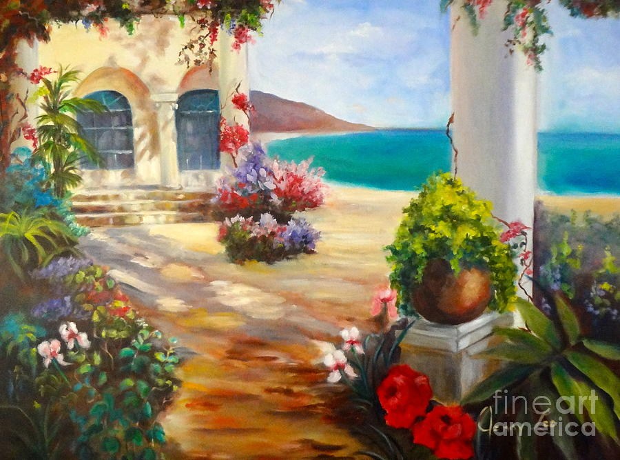 Venice Villa Painting