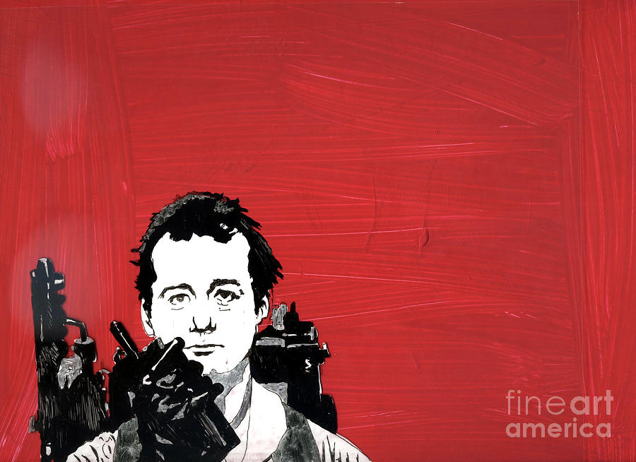Venkman 2 Mixed Media  - Venkman 2 Fine Art Print