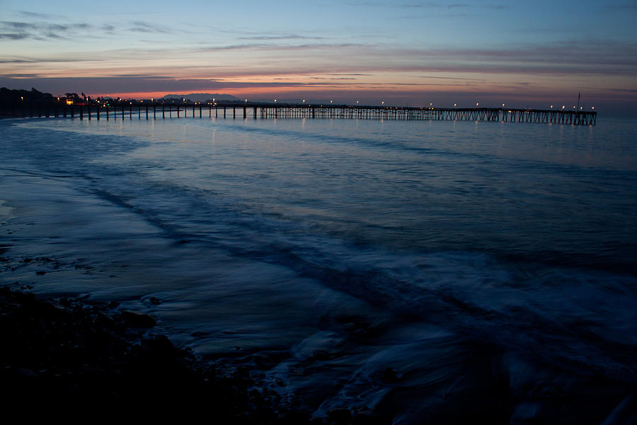 Ventura Pier Sunrise Photograph