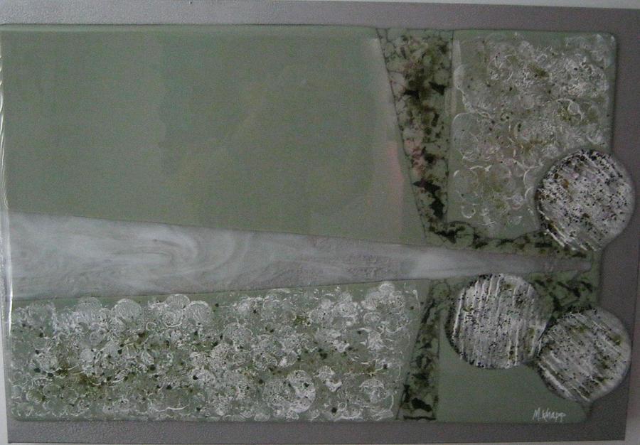 Fused Glass Glass Art - Venturi by Mary  Knapp
