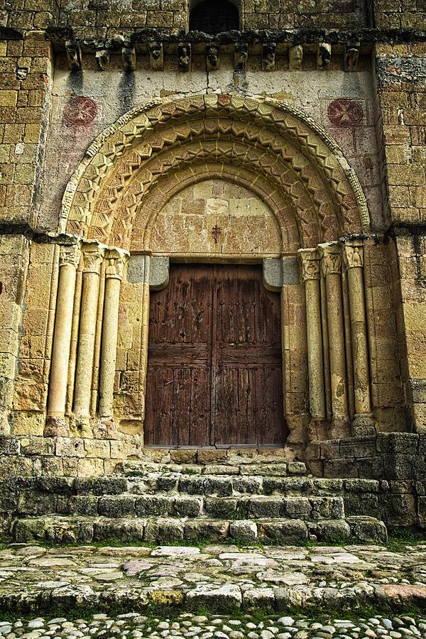 Door Photograph - Vera Cruz Door by Joan Carroll