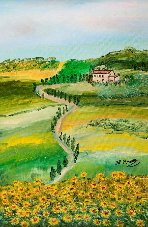 Verde Sentiero Painting