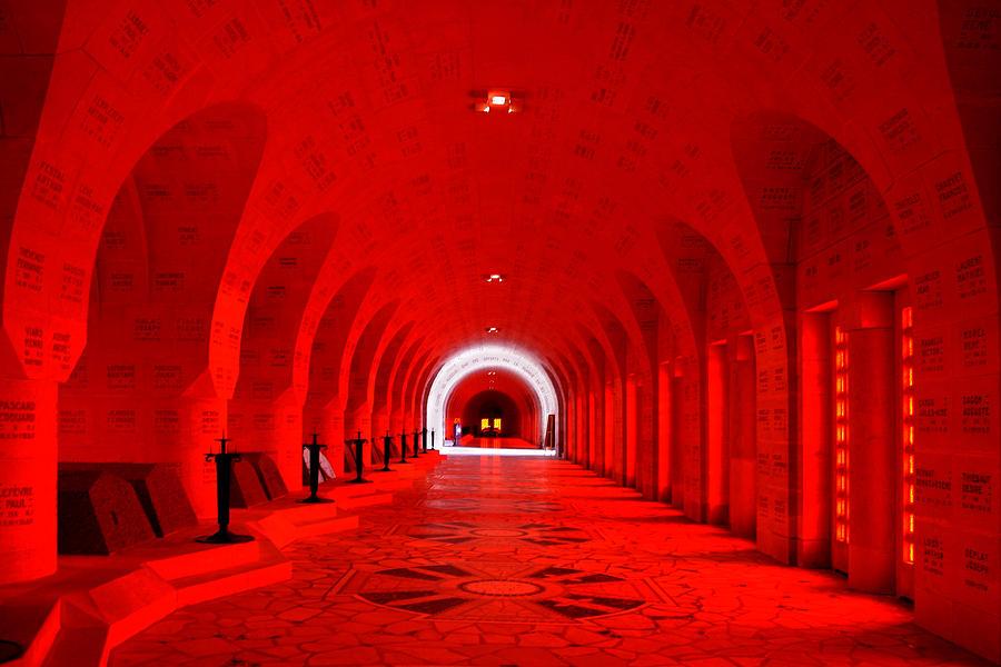 Verdun Photograph - Verdun Ossuary by Joanna Madloch