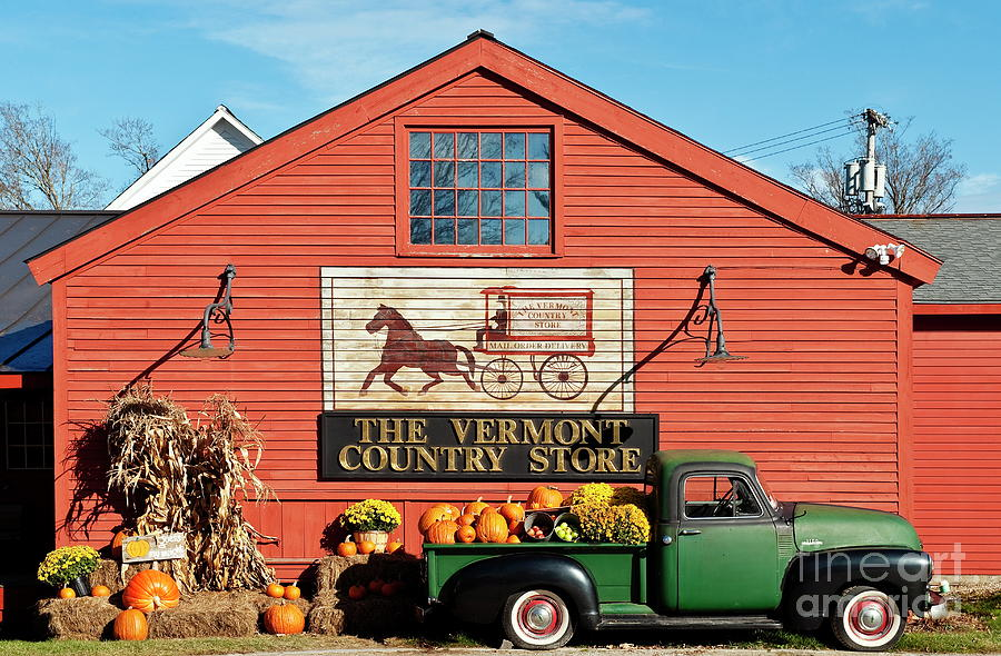 Vermont Country Store Photograph  - Vermont Country Store Fine Art Print