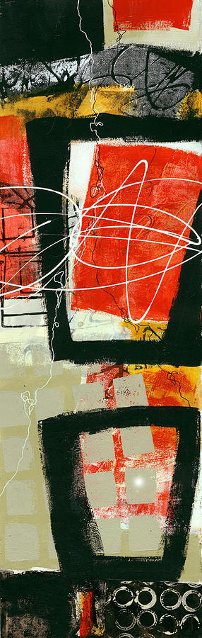 Vertical Painting - Vertical 1 by Jane Davies