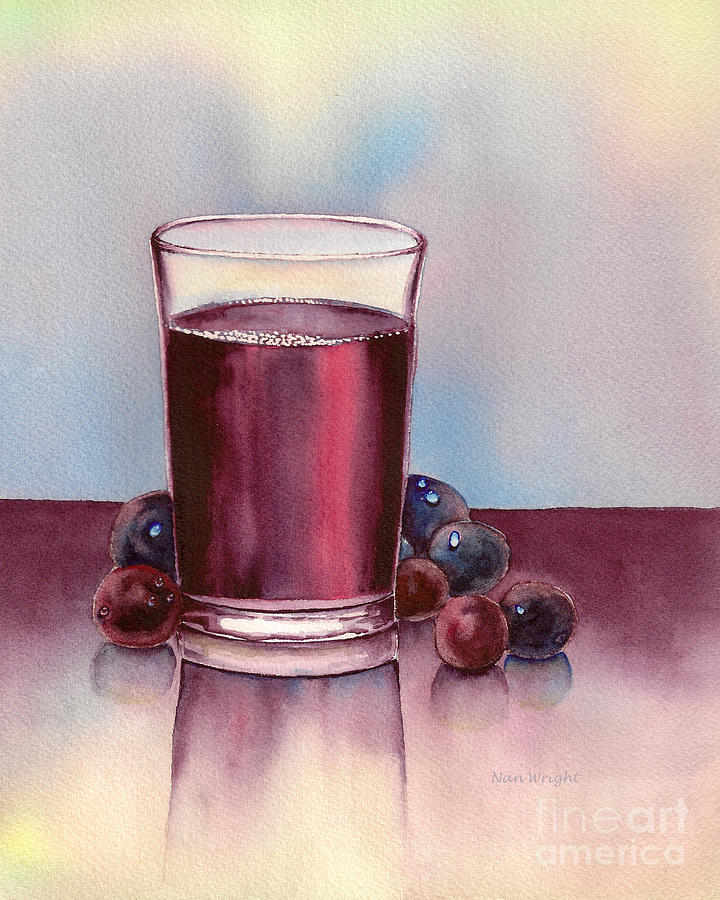 Very  Berry Painting  - Very  Berry Fine Art Print