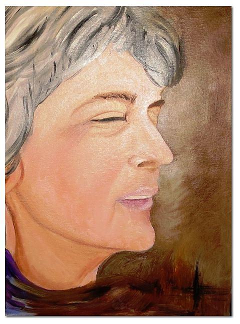 Painting - Vesna by Ferid Sefer