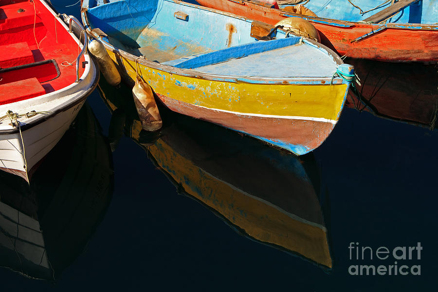 Gran Photograph - Vibrancy At Puerto De Morgan. by Pete Reynolds