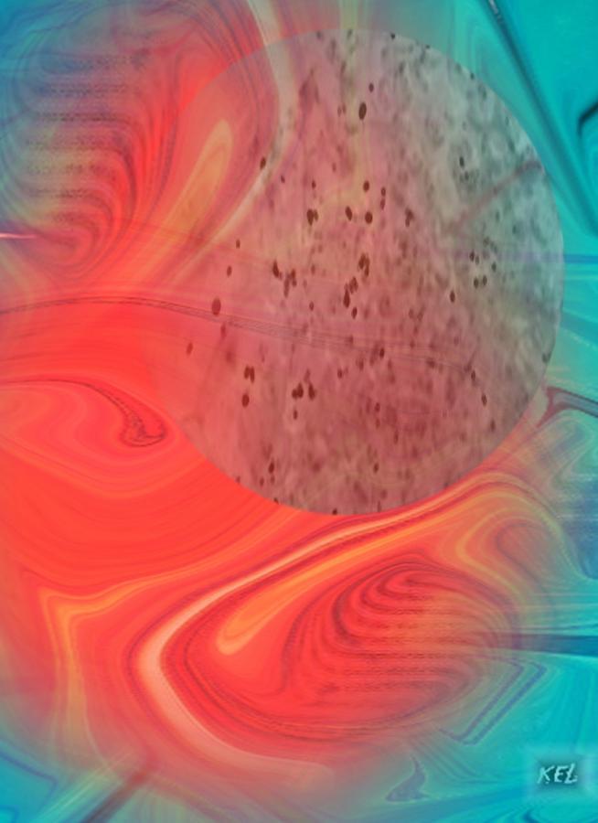 Expressionism Digital Art - Vibrant by Kelly McManus