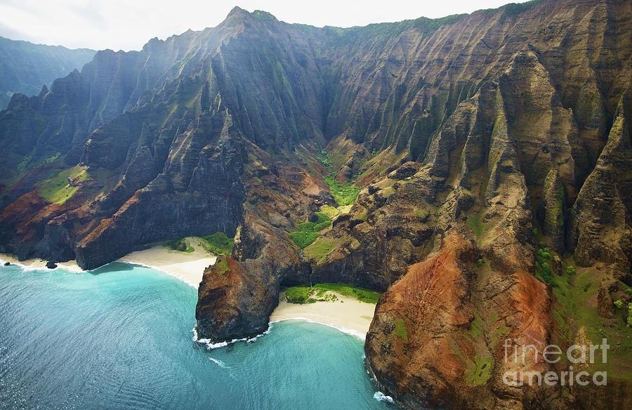 Vibrant Na Pali Coast Photograph