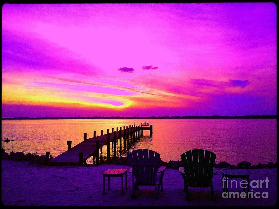 Vibrant Sunset Photograph