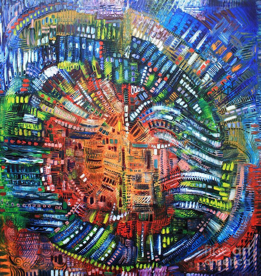 Vibration Painting