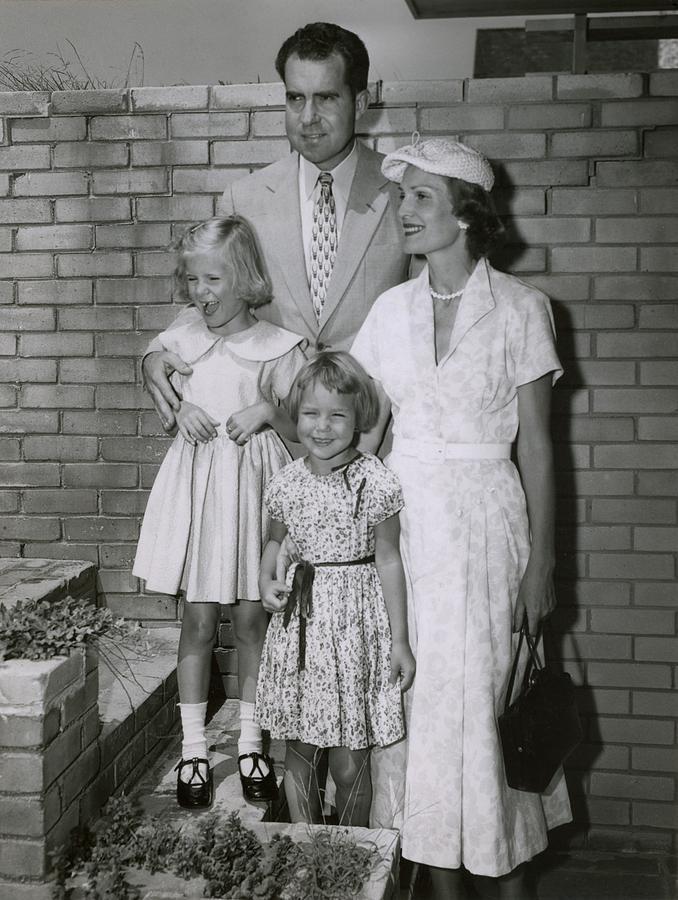 History Photograph - Vice President Richard Nixon by Everett