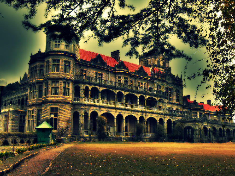 Viceregal Lodge Shimla Photograph  - Viceregal Lodge Shimla Fine Art Print