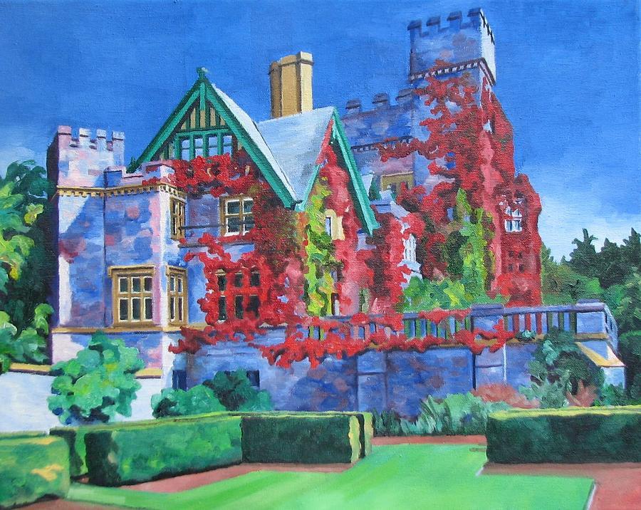 Victoria Bc Hatley Castle by Nel Kwiatkowska