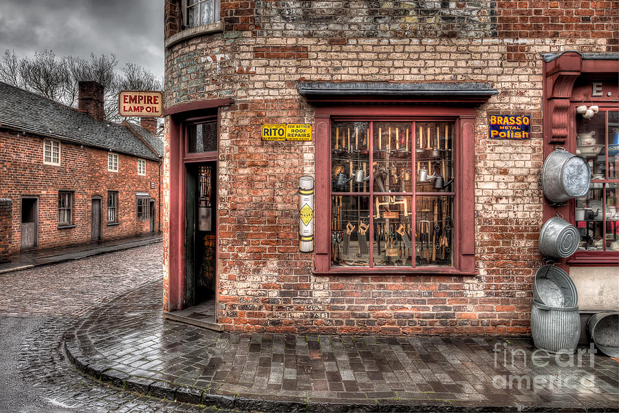 Architecture Photograph - Victorian Corner Shop by Adrian Evans
