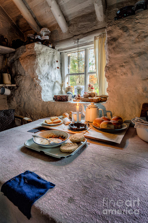 Victorian Cottage Breakfast Photograph