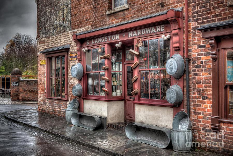 Victorian Hardware Store Photograph