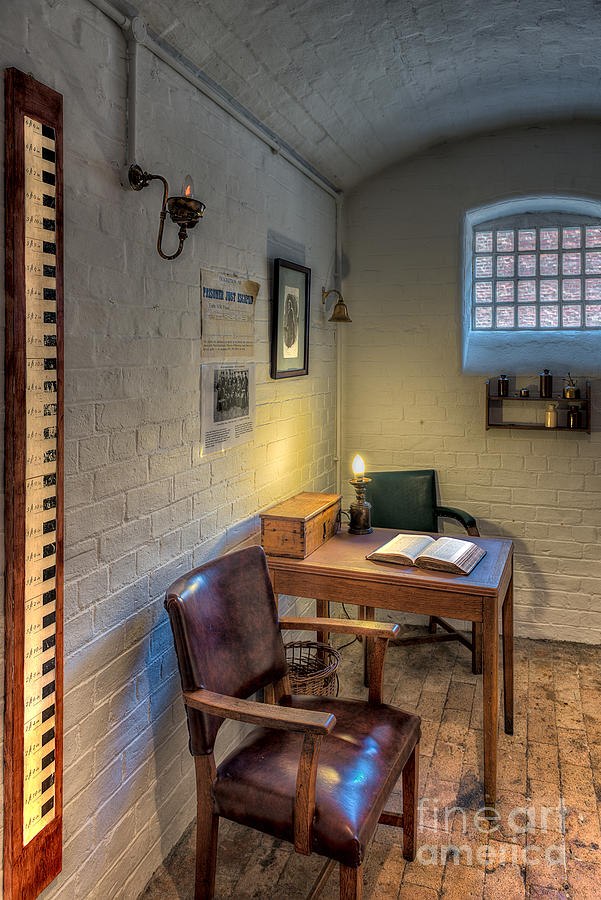 1654 Photograph - Victorian Jail Office by Adrian Evans