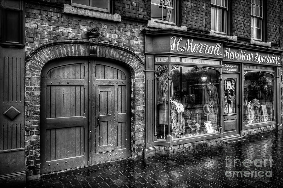 Alley Photograph - Victorian Menswear by Adrian Evans