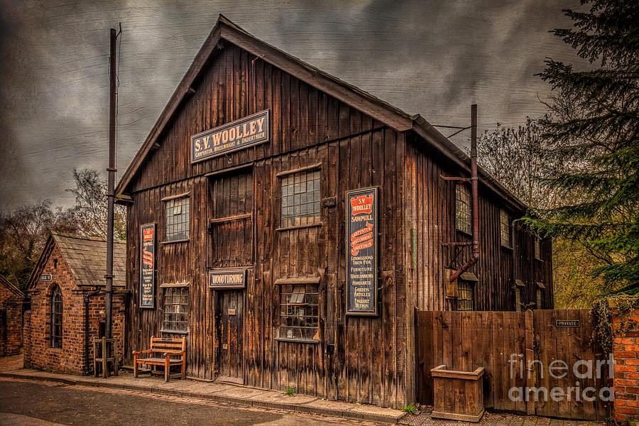 Victorian Sawmill Photograph