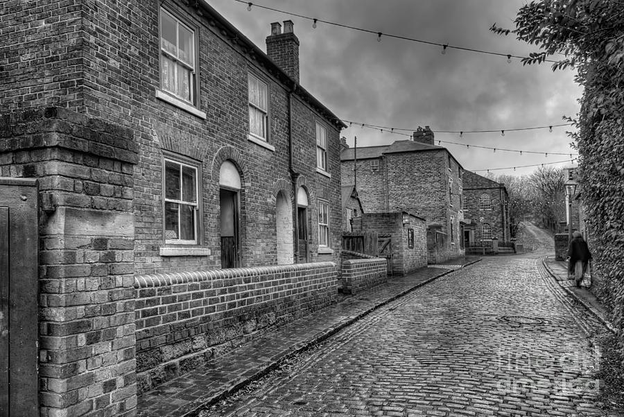 Alley Photograph - Victorian Street by Adrian Evans