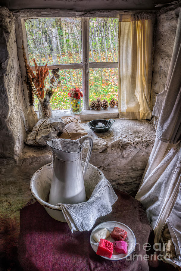Victorian Wash Area Photograph