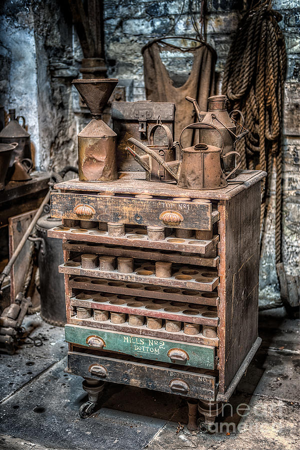 Victorian Workshop Photograph  - Victorian Workshop Fine Art Print