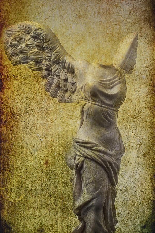 Winged Victory Photograph - Victory Abstract by Garry Gay