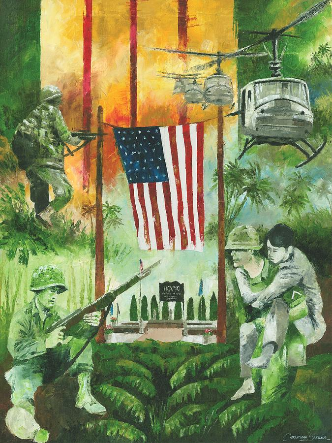Vietnam War Paintings