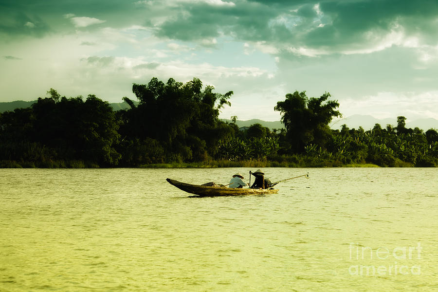 Vietnamese Fishermen Photograph