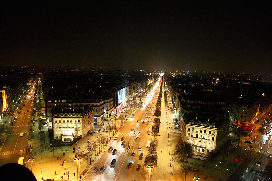 View From Arc De Triomphe - Paris France - 011319 Photograph