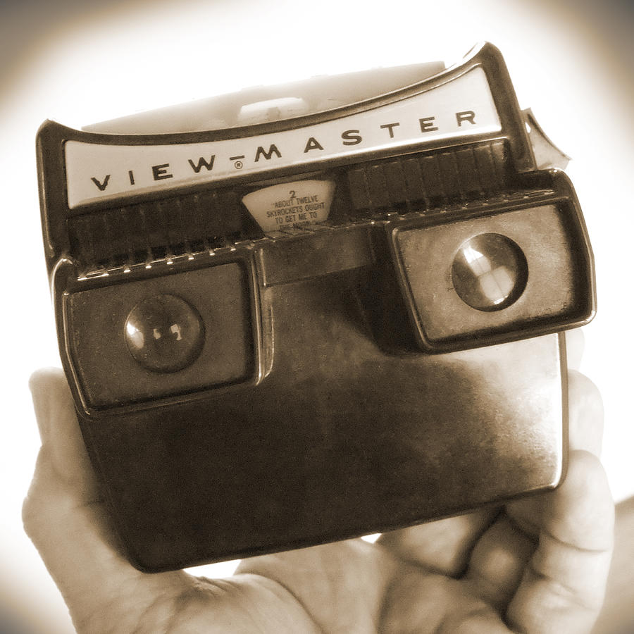 View-master Photograph - View - Master by Mike McGlothlen