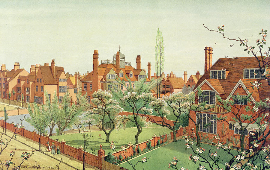 View Of Bedford Park Painting