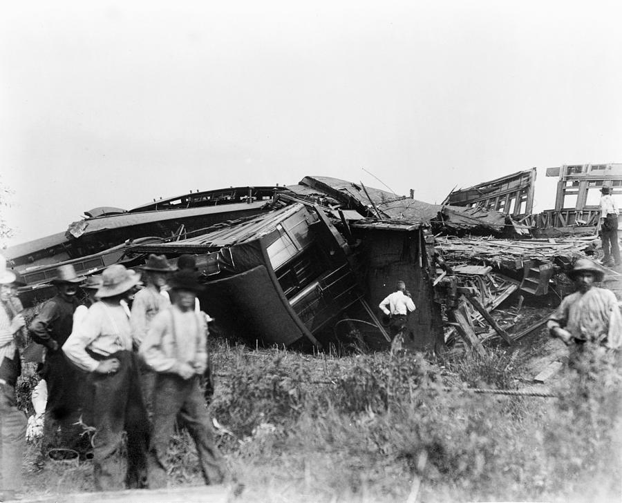 View Of The Great Railroad Wreck, The Photograph