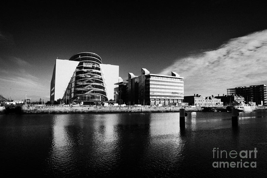 View Of The River Liffey And The Convention Centre Dublin Republic Of Ireland Photograph