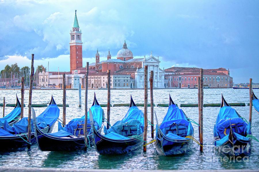 Venice Photograph - View To San Giorgio Maggiore by Heiko Koehrer-Wagner