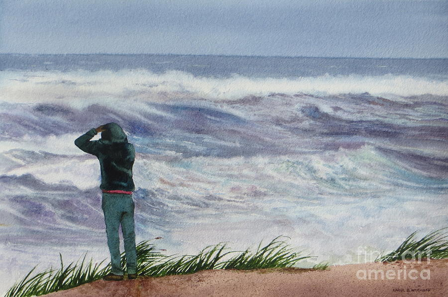 Sea Painting - Viewing Nemo by Karol Wyckoff