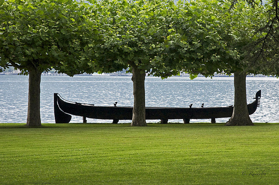 Viking Boat Photograph  - Viking Boat Fine Art Print