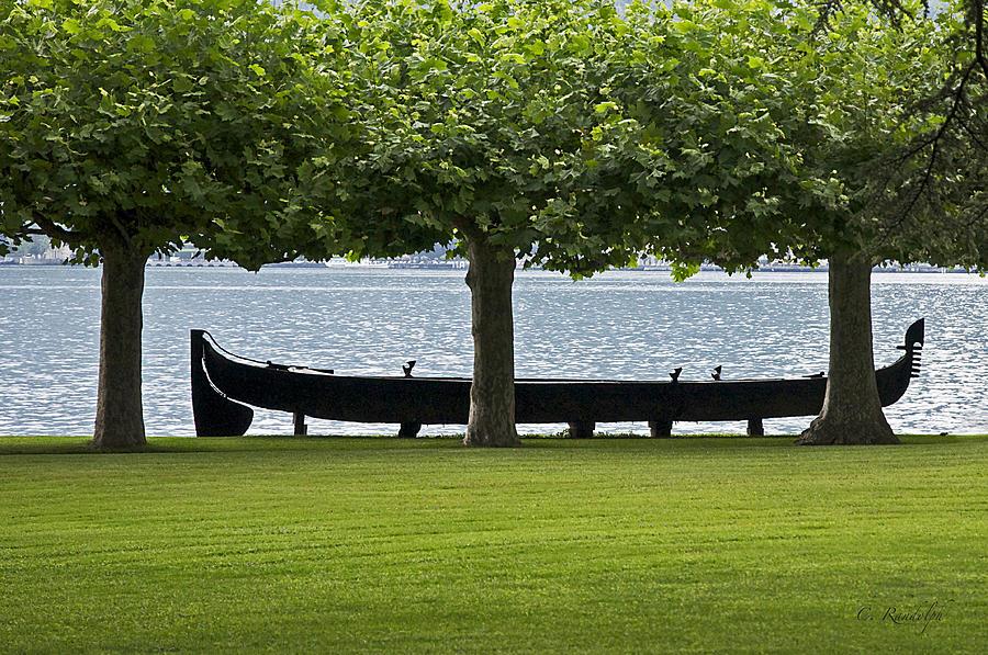 Viking Boat Photograph - Viking Boat by Cheri Randolph