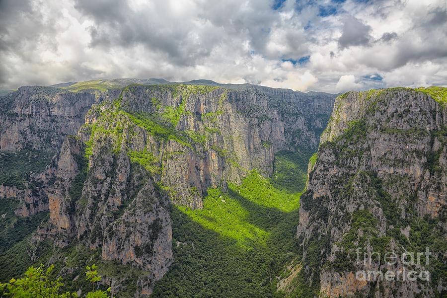 Vikos Gorge Photograph by Gabriela Insuratelu