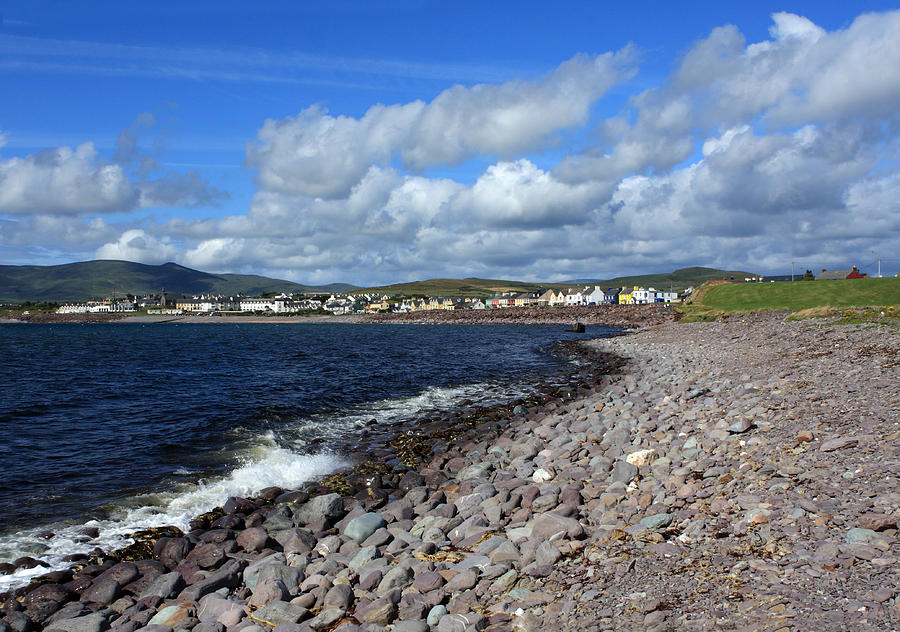 Village By The Sea - County Kerry - Ireland Photograph  - Village By The Sea - County Kerry - Ireland Fine Art Print