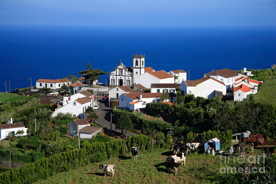 Village In Azores Islands Photograph  - Village In Azores Islands Fine Art Print